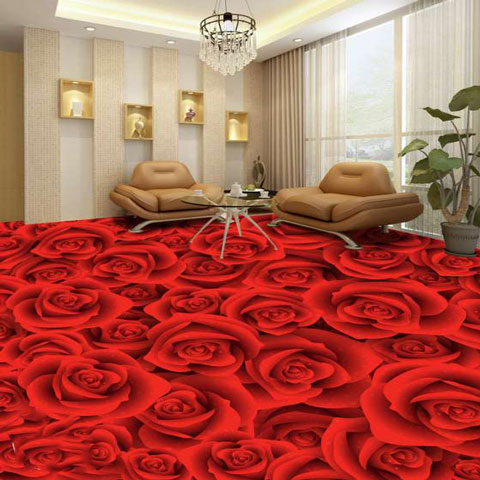 Hr decor 3d epoxy flooring for 3d wallpaper for home in chennai